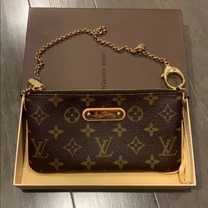Louis Vuitton Monogram Milla Pochette